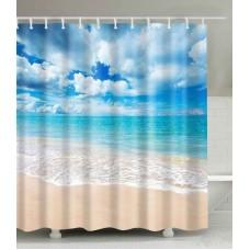 Duschvorhang offenes Meer