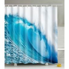 Duschvorhang Welle