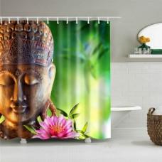 Duschvorhang Buddha