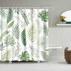 Duschvorhang Blätter